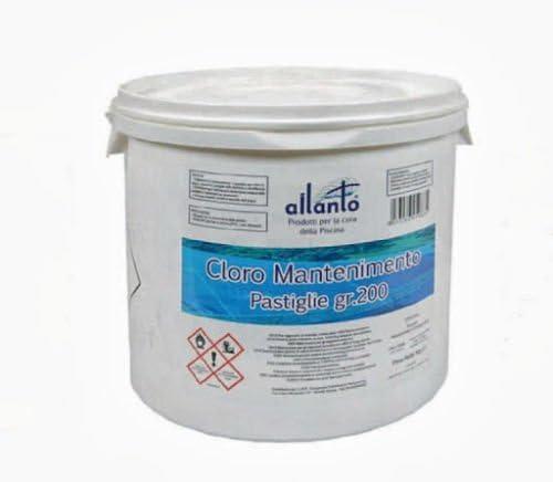 90% En Pastillas TRICLORO-pasticche 200 G CLORO PISCINA FERR 77804 ...
