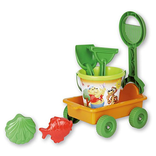 Mind Tools Poppy & Friends Wagon Beach Toy Set (Wagons Toy Plastic)