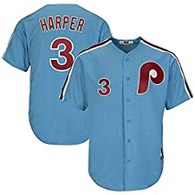 Majestic Athletic Men's Bryce Harper Philadelphia Phillies Player Jersey