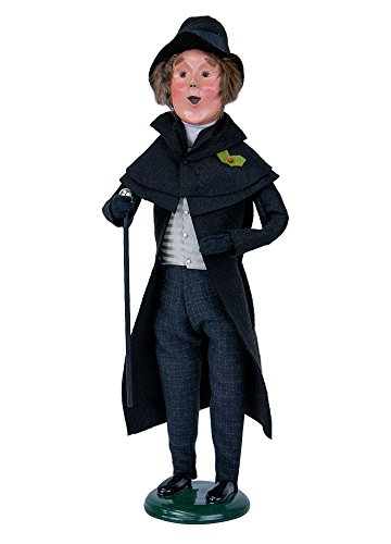 Byers' Choice Young Scrooge Caroler Figurine 2122 from The A Christmas Carol Collection (Carol Choice Christmas Byers)