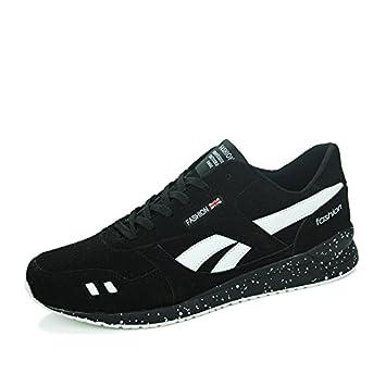 Zapatillas deportivas Casual Hombre Student Forrest Gump Zapatillas de running marea zapatos Negro negro Talla:43: Amazon.es: Deportes y aire libre