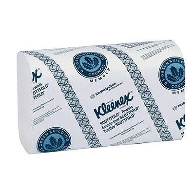 Kleenex Superior ScottFold Paper Towels, C-Fold, 120 Towels/Pack, 20 Pack/Carton KCI01900 (Scottfold C-fold Paper Towels)
