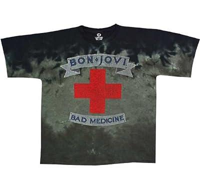 Bon Jovi Bad Medicine Tie-Dye T-Shirt