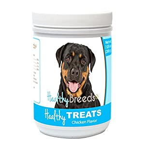 Healthy Soft Chewy Dog Treats for Rottweiler - Over 80 Breeds - Tasty Flavored Snack - Small Medium or Large Pets - Training Reward - 7oz 7