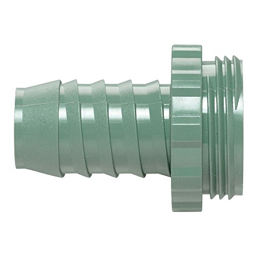 Orbit 57189 1-Inch Manifold Poly Adapter, Green