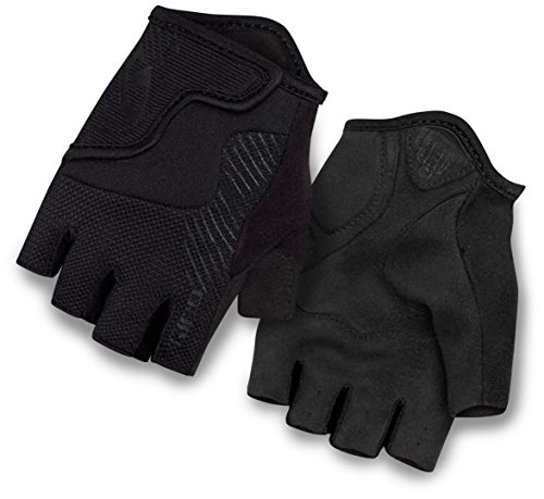 Giro Bravo Jr Glove - Kid's Mono Black (Kids Leather Gloves)