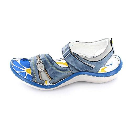 KRISBUT 2118-2 - Sandalias de Vestir Para Mujer Azul
