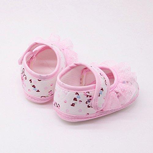 Zapatos Encaje Deportivas De Bebe Floral Estampado Recién Niños Rosa Suave Zapatillas Gusspower Nacidos Para Pequeños xZTUdzZwq
