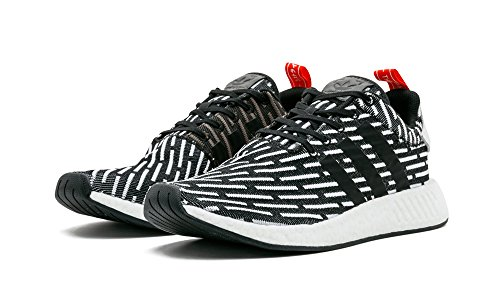 adidas Originals Mens NMD_r2 PK Sneaker Cblack/Cblack/Ftwwht ISvnMsw