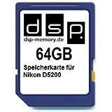 DSP Memory Z 4051557410961Memory Card 64GB for Nikon D5200
