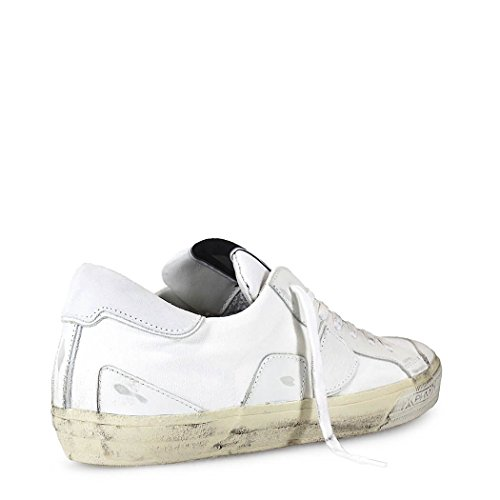 PHILIPPE MODEL BASKETS BERCY BLANC POUR HOMME