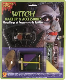 Rubie's Costume Co Witch Child Monster Mania Makeup Face (Kids Halloween Witch Face Paints)