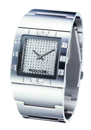 Police Women's PL-11749LS/04M Sheen Silver Dial Watch
