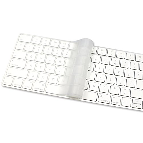 proelife clear ultra thin silicone keyboard cover skin for