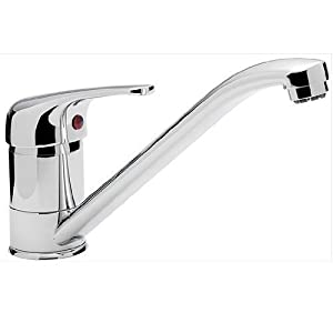 small single lever chrome kitchen sink mixer tap aero 9 ch - Kitchen Sink Mixer Taps
