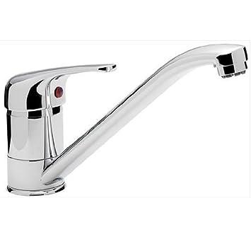 small single lever chrome kitchen sink mixer tap aero 9 ch - Kitchen Sink Mixers