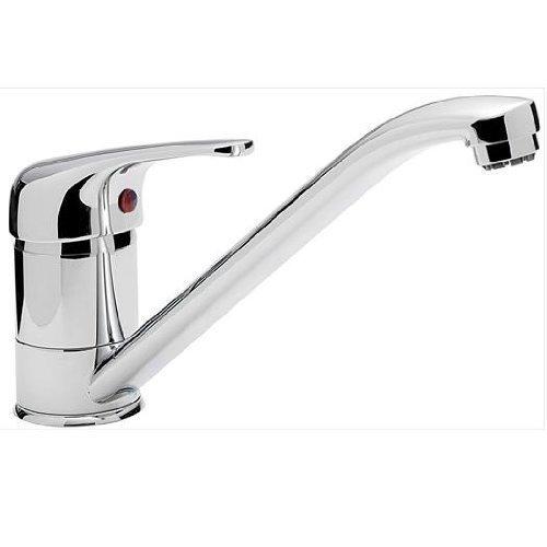 Small Single Lever Chrome Kitchen Sink Mixer Tap (Aero 9 ch ...