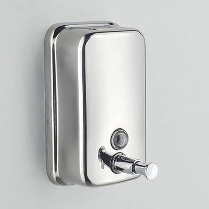800 ml de acero inoxidable para montaje en pared dispensador de jabón de cocina casera de