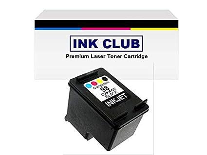 InkClub C9364WN # 98 negro cartucho de tinta remanufacturado en ...