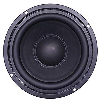 5'' Inch Black Woofer Speaker 30 Watt 8 Ohm Pro Audio Midrange Loudspeaker:  Amazon.in: Electronics