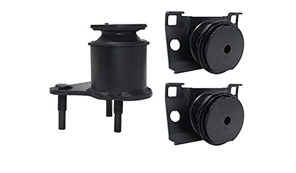 Front Motor Mount and Trans Mount Set 3PCS for 2005-2014 Nissan Frontier 2.5L