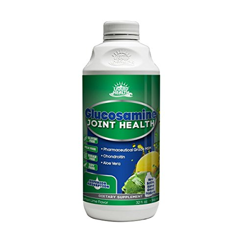 Liquid Health Products Glucosamine with Chondroitin and Msm, 32 Fluid Ounce