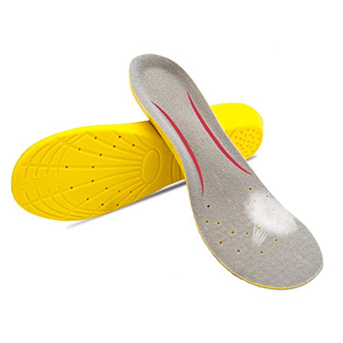 YYCB Shoe Insoles Sports Comfort Arch Support Orthopedic Shoe Inserts for Men and Women - Soft Cuttable Running Insoles (US Men: 6-9/Women: 6.5-10)