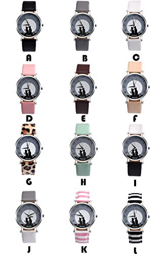 Women Quartz Watches PAPHITAK Cat Pattern Clearance Female Watches on Sale Lady Watches Cheap Watches-H50