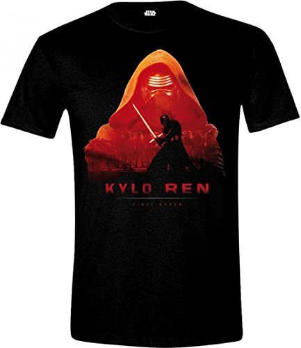 Star Wars VII - The Force Awakens - Kylo Ren Cover Black Schwarz T-Shirt - Size / Größe L