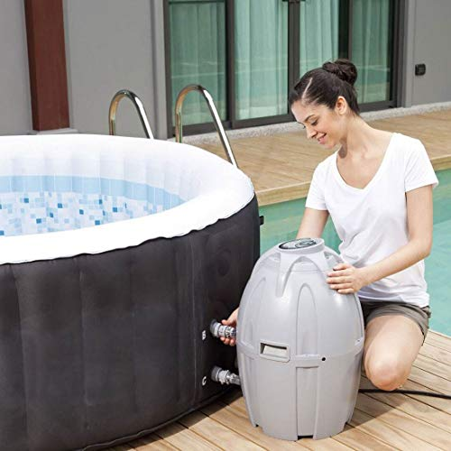 Coleman 71 x 26 Inflatable Spa 4-Person Hot Tub with 6 Filter Cartridges