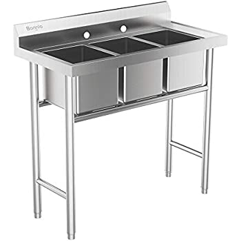 Amazon.com: Portable Sink with hot water Mobile Concession ...