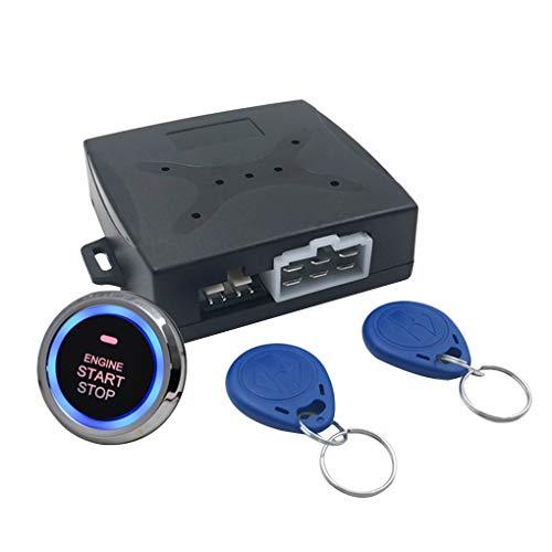 (Jiasijieke Auto Car Alarm Engine Starline Push Button Start Stop RFID Lock Ignition Switch Keyless Entry System Starter)