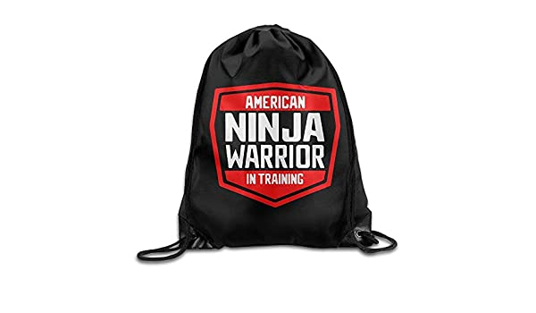 DSGFSQ Mochilas/Bolsas de Gimnasia, American Ninja Warrior ...