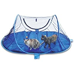 Wildwhiskers Outdoor Feline Funhouse (Funhouse + Pad Combination)