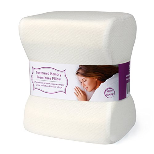 Leg Knee Pillow For Better Alignment, Better Sleep & Pain Relief | Great For Maternity & Side...