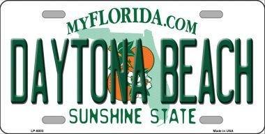 Smart Blonde LP-6003 Daytona Beach Florida Novelty Metal License Plate