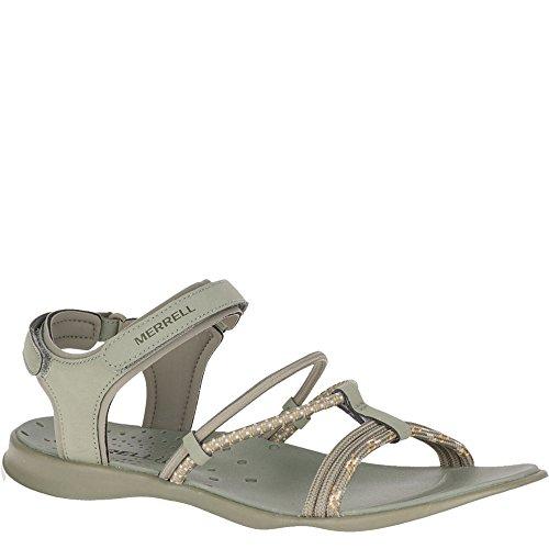 Merrell Womens Sunstone Strap Sport Sandal, Black Vertiver