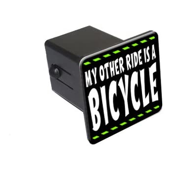 Graphics and More Dirt Bike 2 Tow Trailer Hitch Cover Plug Insert Truck Pickup RV