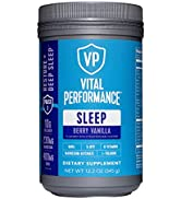 Vital Performance Sleep - Natural Sleep Aid with Collagen, L-Theanine, Magnesium Glycinate and GA...