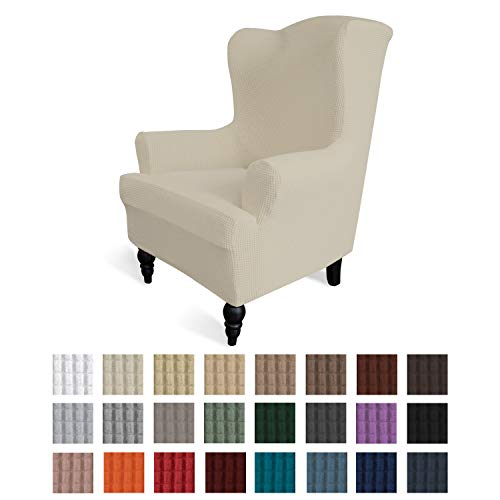 Easy-Going Stretch Wingback Chair