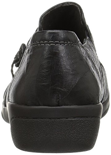 Clarks Leather Madi Loafer Scrunch Women's Black Cheyn r0qPrxA