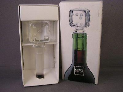 Mikasa Bottle Stopper, Casino Die