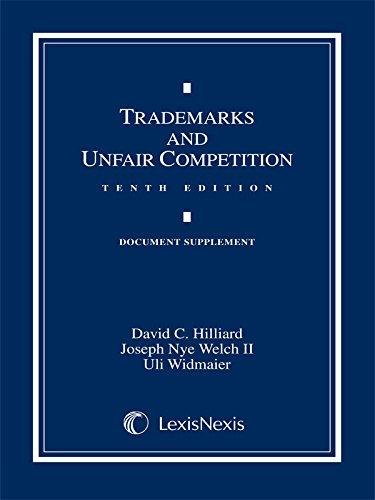 Trademarks and Unfair Competition: Documentary Supplement (Tenth Edition, 2014)