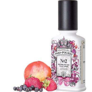 Poo-Pourri 3-piece Bathroom Deodorizer Set No. 2:Berries and Peaches by Poo-Pourri
