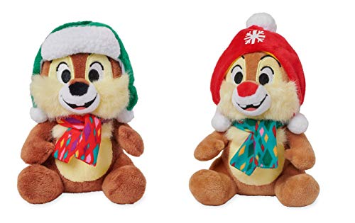 Chip 'n Dale Holiday Bean Bags Set of 2