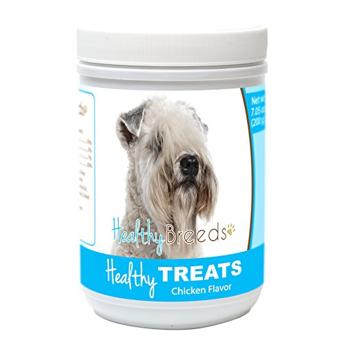 Healthy Soft Chewy Dog Treats for Soft Coated Wheaten Terrier - Over 80 Breeds - Tasty Flavored Snack - Small Medium or Large Pets - Training Reward - 7oz