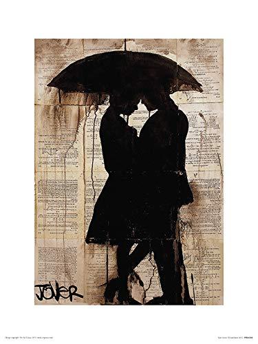 Amazon.com: iPosters Loui Jover Rain Lovers Matt Coated Art ...
