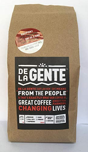 Amazon.com : [Ijatz 12oz Ground Medium] Ground Coffee Single Origin Guatemala, Antigua - Ijatz - Freshly Roasted By: DE LA GENTE : Grocery & Gourmet Food