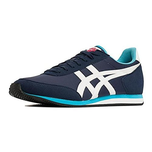 Asics Men's Sakurada Trainers - Blue Marino/White, Size 8