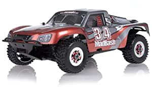 1/8th Exceed RC Madbash Nitro Powered Almost Ready to Run ARTR Racing Edtion Rally .28 Engine Car Bravo RedTX/RX and STARTER KIT REQUIRED